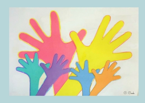 hands are many colors