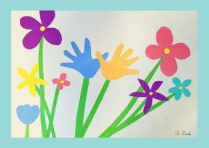 hands can plant a flower