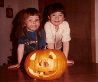 me and jenni pumpkin