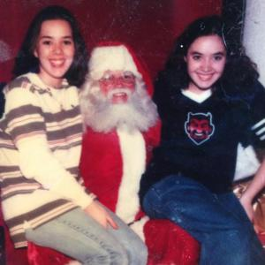 me and jenni santa