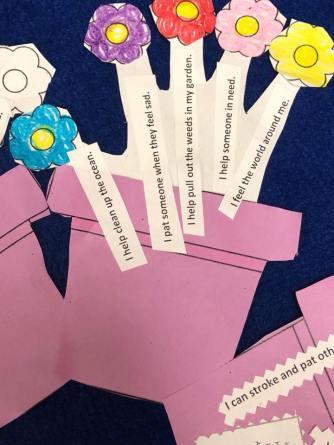 hands from teacher