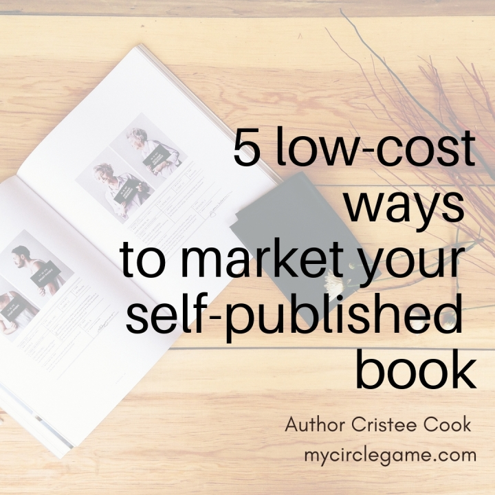 Low cost ways to market yourbook